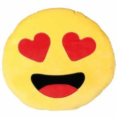 Hartjesogen emoji 50 cm