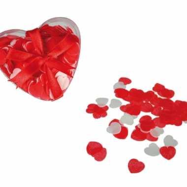 Hartvormige confetti voor in bad