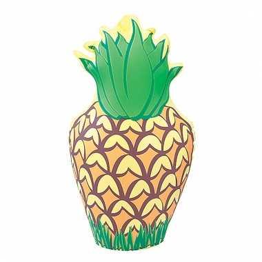 Hawaii feest decoratie ananas