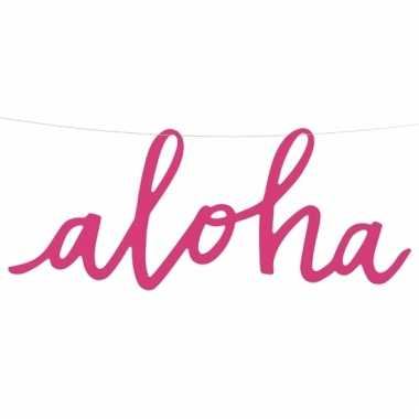 Hawaii letterslinger aloha 47 cm