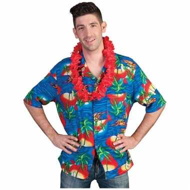 Hawaii shirt maui voor volwassenen
