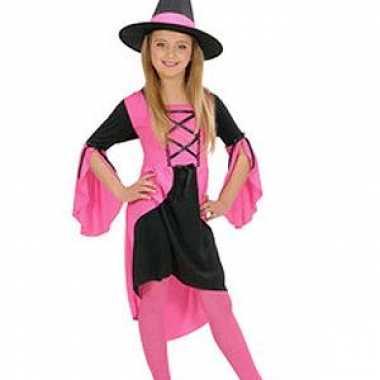 Heksenkleding meisjes roze