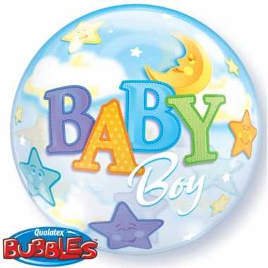 Helium ballon geboorte jongen