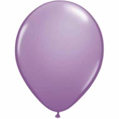 Helium ballonnen lavendel 50 stuks