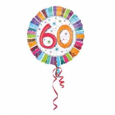 Helium feest ballonnen 60 jaar