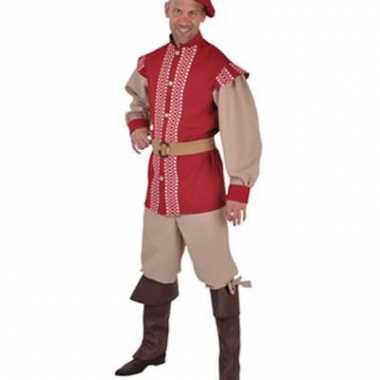 Heren verkleedkleding middeleeuwen