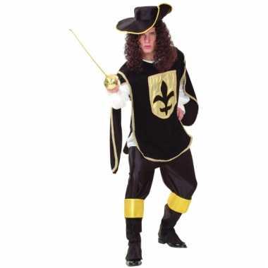 Heren verkleedkleding musketier