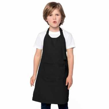 Hobby schorten zwart voor kinderen