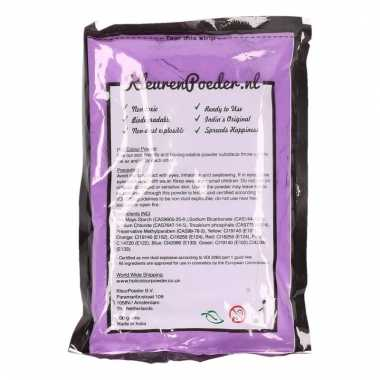 Holi powder paars 100 gram