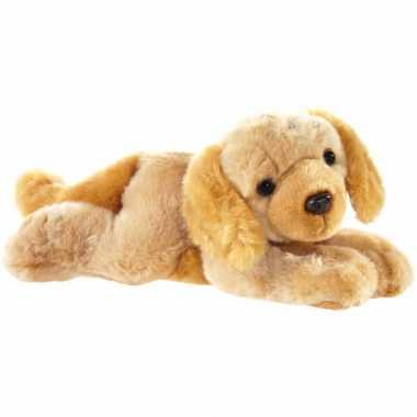 Huisdieren knuffels labrador hond blond 32 cm
