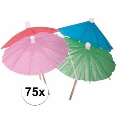 Ijs parasols 75 stuks