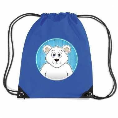 Ijsberen rugtas / gymtas voor kinderen