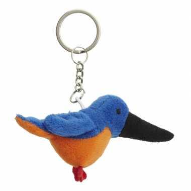 Ijsvogel sleutel hangertje 6 cm
