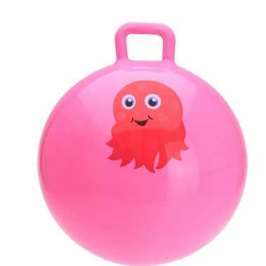 Iktvis skippybal roze 55 cm