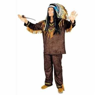 Indiaan hania heren verkleedkleding