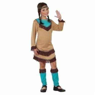 Indianen meisje kostuum chinouk