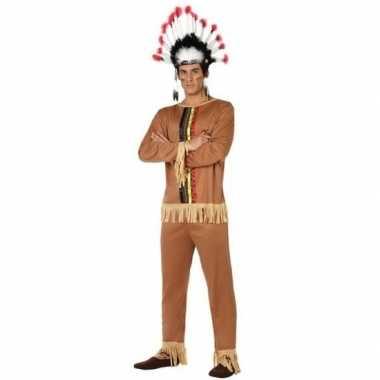 Indianen pallaton verkleed pak/kostuum voor heren