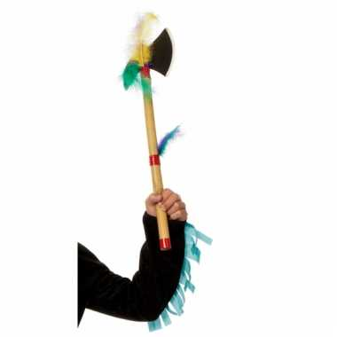 Indianen tomahawk bijltje