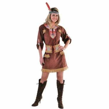 Indianen verkleedjurkje voor dames