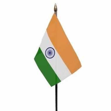 Indische landenvlag op stokje