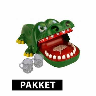Indrink spelletje krokodil
