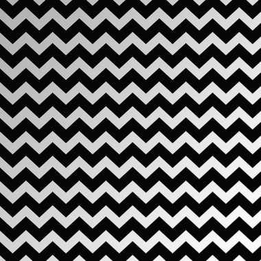Inpakpapier zwart en wit 150 cm