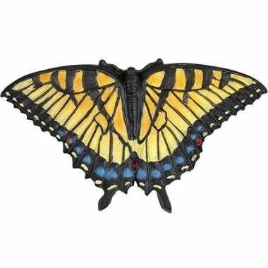 Insecten magneten pages vlinder gekleurd 7 cm