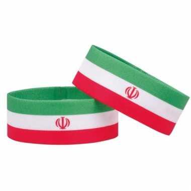 Iran fan armbandje