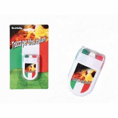 Italiaanse kleuren schmink stift