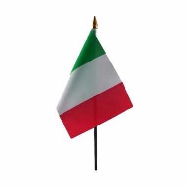 Italiaanse landenvlag op stokje