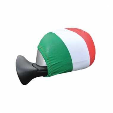 Italiaanse vlag spiegel hoesjes