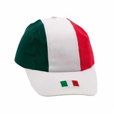 Italiaanse vlaggen cap