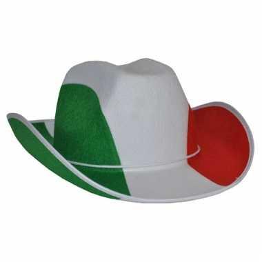 Italie cowboyhoeden voor volwassenen