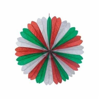 Italie decoratie waaiers 60 cm