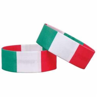 Italie fan armbandje