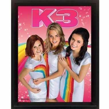 K3 3d lijst poster 23 x 28 x 5 cm