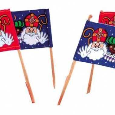 Kaasvlaggetjes voor de sinterklaas