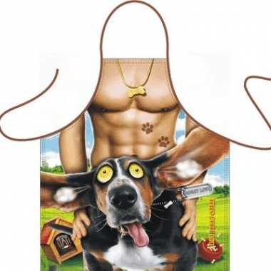 Kado artikelen schort hot doggy style