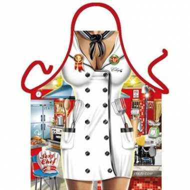Kado artikelen schorten chef kok