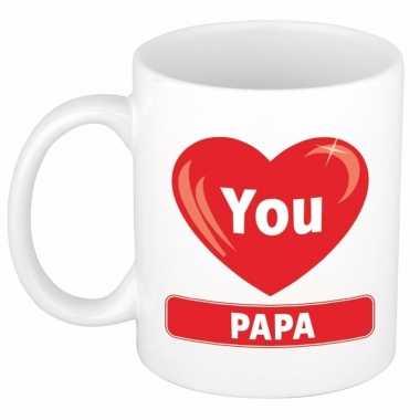 Kado beker voor papa 300 ml