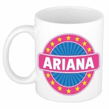 Kado mok voor ariana