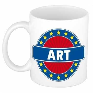Kado mok voor art