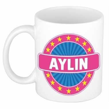 Kado mok voor aylin