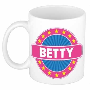 Kado mok voor betty