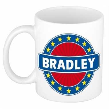 Kado mok voor bradley