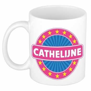 Kado mok voor cathelijne