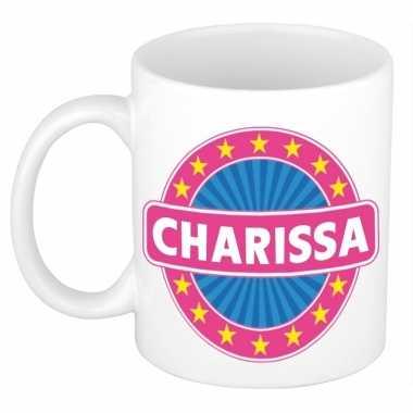 Kado mok voor charissa