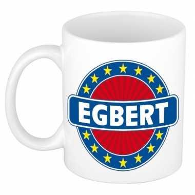 Kado mok voor egbert