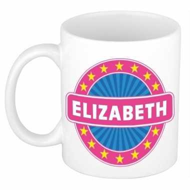 Kado mok voor elizabeth