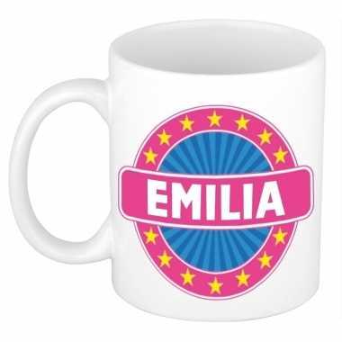 Kado mok voor emilia